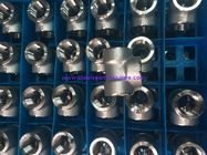 Stainless Steel F304 / 304l Forged Steel Fittings 1500# - 9000# 1/8'' - 4'' OD Size