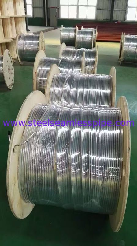 Stainless Steel Coil Tubing , A213/A269 TP304L /TP316L  6.35mm , 9.52mm, 12.7mm , bright annealed
