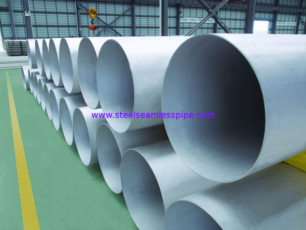 Welded Duplex Stainless Steel Pipes UNS S31803 S32205 S32750 S31254 Length 6M 11M